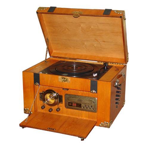 Центр музыкальный TUBEI RP-005(радио +винил)