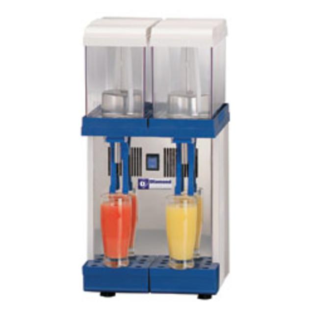 Сокоохладитель для напитков, DIAMOND LUKE-2M 2x 9 liters